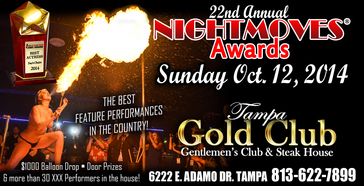 NightMoves® Announces Call for Sponsors for 22nd Annual Awards Show