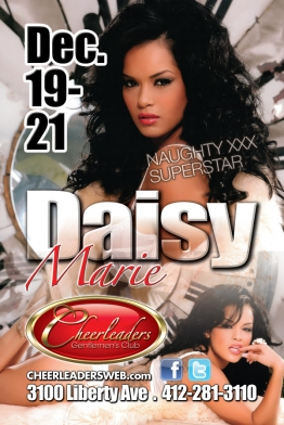 Daisy Marie Special Holiday Feature Dancing This Weekend