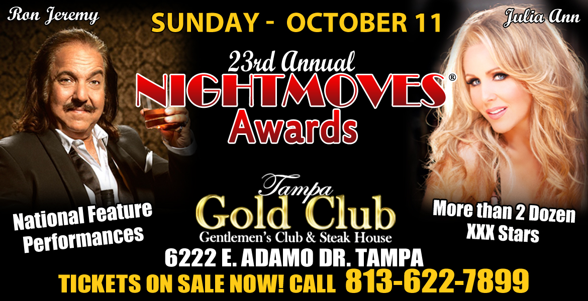 NightMoves® Announces Hosts, Performances, & After Party for 23rd Annual Awards Show October 11