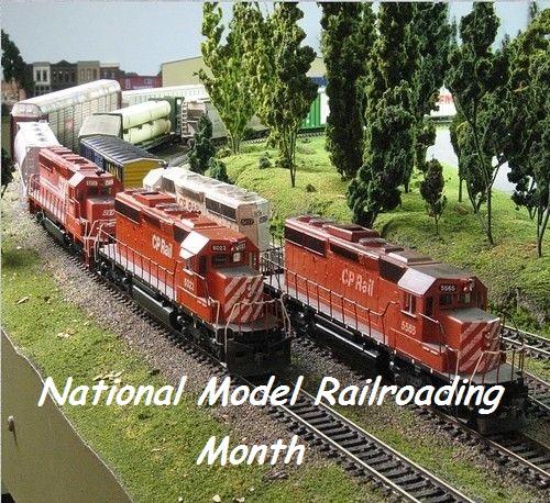 Art's World – November is National Model Railroad Month